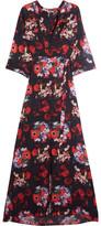 Kenzo Floral-print Silk-georgette Maxi Dress - FR34