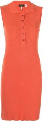 Fendi Pre-Owned Sleeveless Long One piece Dresses