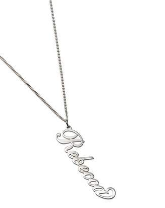 Marisota Personalised 18 Inch Silver Necklace