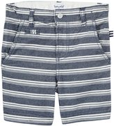 Splendid Woven Stripe Shorts (Toddler/Kid) - Stripe-7