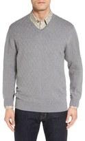 Cutter & Buck 'Benson Grove' Raker V-Neck Sweater