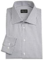 Giorgio Armani Micro-Box Dress Shirt
