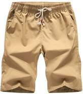 Wishere Men's Sports Pants Shorts Korean Casual Summer Beach Pants