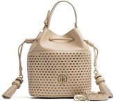 Tommy Hilfiger Hearts Leather Mini Bucket Bag