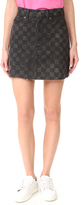 Marc Jacobs Checkered Miniskirt