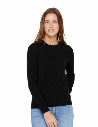 State Cashmere Womens Crew Neck Jumper 100% Pure Cashmere Sweater Long Sleeve Pullover (X-Small
