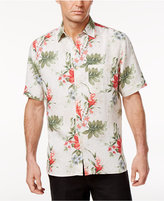 Tasso Elba Men's Wild Orchid Print Shirt, Only at Macy's