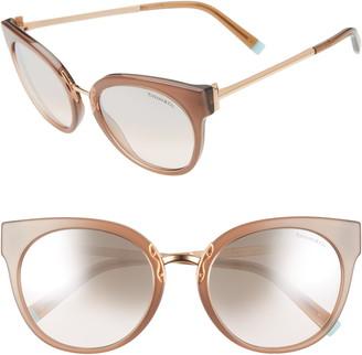 Tiffany & Co. 54mm Gradient Round Sunglasses