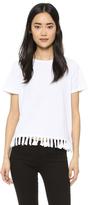 Clu Too Fringe Trimmed T-Shirt