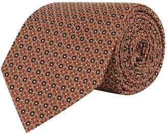 Eton Silk Mosaic Flower Tie