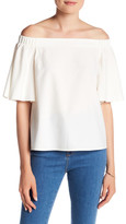 Do & Be Do + Be Textured Off-the-Shoulder Shirt