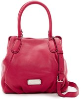 Marc by Marc Jacobs New Q Leather Fran Double Shoulder Shopper Bag