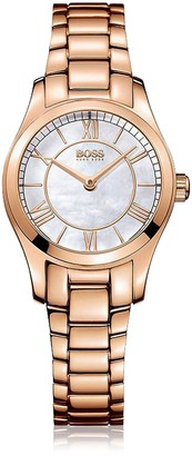 HUGO BOSS Womens Analogue Quartz Watch with Stainless Steel Strap 1502378