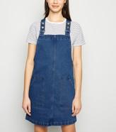 New Look Denim Pinafore Dress
