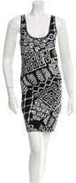 Torn By Ronny Kobo Sleeveless Patterned Dress w/ Tags