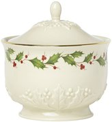 Lenox Holiday Carved Treat Jar