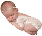 Newborn Baby Hollow Wraps Blanket Posing Swaddle Cover Photography Prop By Luca (White)