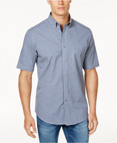 Club Room Men's Micro-Gingham Shirt, Created for Macy's