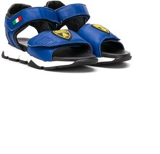Bumper TEEN Lamborghini touch strap sandals