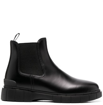 Car Shoe Chunky Sole Ankle Boots