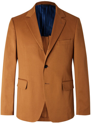 MP Massimo Piombo Andy Slim-Fit Stretch-Cotton Twill Suit Jacket