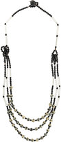 Armani Collezioni layered beaded necklace