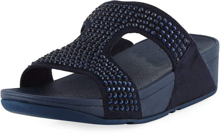 FitFlop Glitzie Embellished Slide Sandal