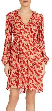The Kooples Volute Printed Dress