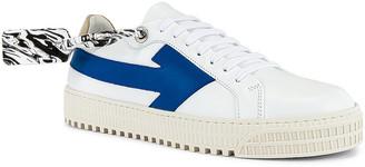 Off-White Arrow Sneaker in White & Blue | FWRD