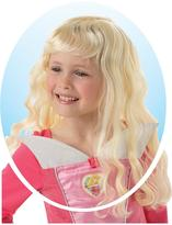 Disney Princess Childs Sleeping Beauty Wig With Free Book