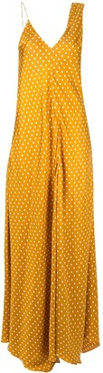 Walk of Shame Sienna polka dot dress
