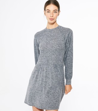 New Look Fluffy Puff Sleeve Smock Dress