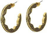 House Of Harlow Macedonian Sunburst Hoops