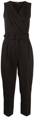 Seventy Belted Cropped Jumpsuit