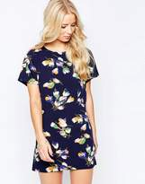 Iska Shift Dress in Petal Print