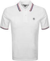 Converse Twin Tipped Polo T Shirt White