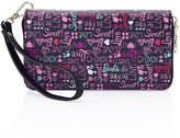 Barbie Fashion Girls Women Long Fold Cash Wallet Change Wallet Purse With Cards Pocket with Hand Belt with in PU 19.5x11x2.5CM #BBPS006.01A