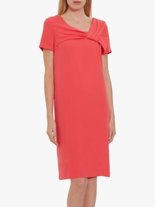 Gina Bacconi Nilsa Crepe Bow Dress