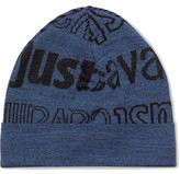 Just Cavalli Printed Knitted Beanie