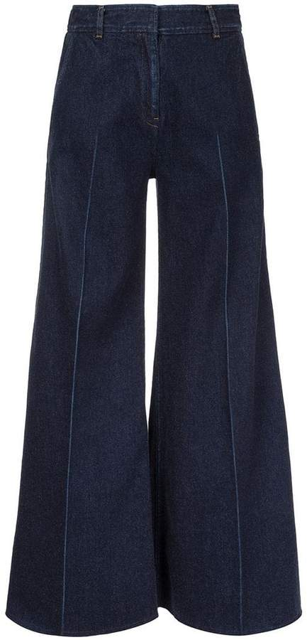 Miharayasuhiro denim wide pants