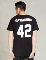 Les (Art)ists Black KAWAKUBO42 Football T-Shirt