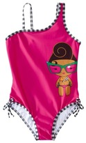 Harajuku Lovers Mini for Target® Girls 1-Piece Swim Suit - Pink