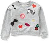 Kate Spade Little Girls 2-6 Patch Sweatshirt