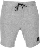 Religion Badge Shorts Grey