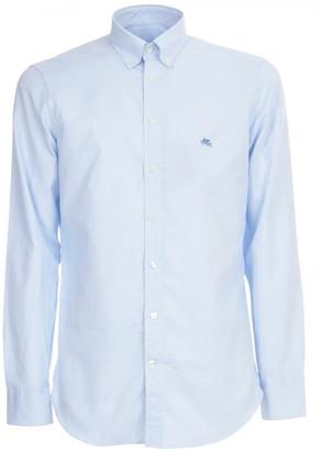 Etro Slim Shirt Botton Down W/logo