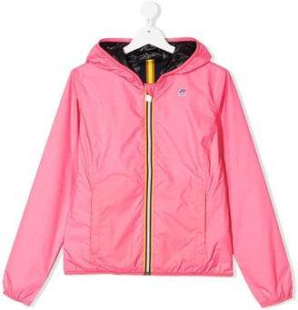 K Way Kids TEEN lightweight hooded jacket