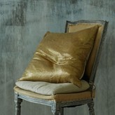Graham and Green Textured Gold Cushion