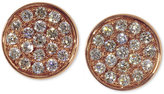 Effy Diamond Round Stud Earrings in 14k Rose Gold (1/3 ct. t.w.)