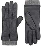 Barneys New York Women's Leather & Cashmere Gloves