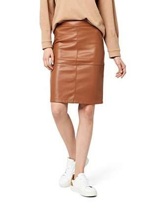 Vila CLOTHES Women's Skirt Vipen New Skirt-fav,(Manufacturer Size: S)
